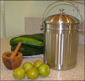 how to do kitchen composting with pictures
